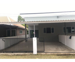 New style house for rent in Buriram center, available 1st Sept